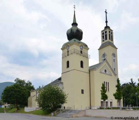 5a2ab297c Až do roku 1940 stál na okraji centra Považskej Bystrice pôvodne  románsko-gotický Kostol Navštívenia Panny Márie z 13. - 14. storočia.