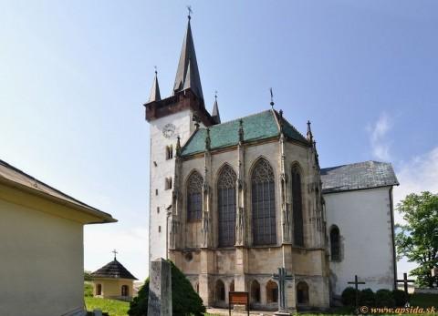 3c61d665e Spišský Štvrtok - gotická kaplnka   Apsida